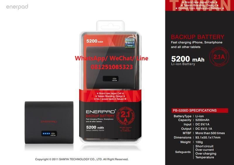 Power Bank Enerpad 5200 Mah