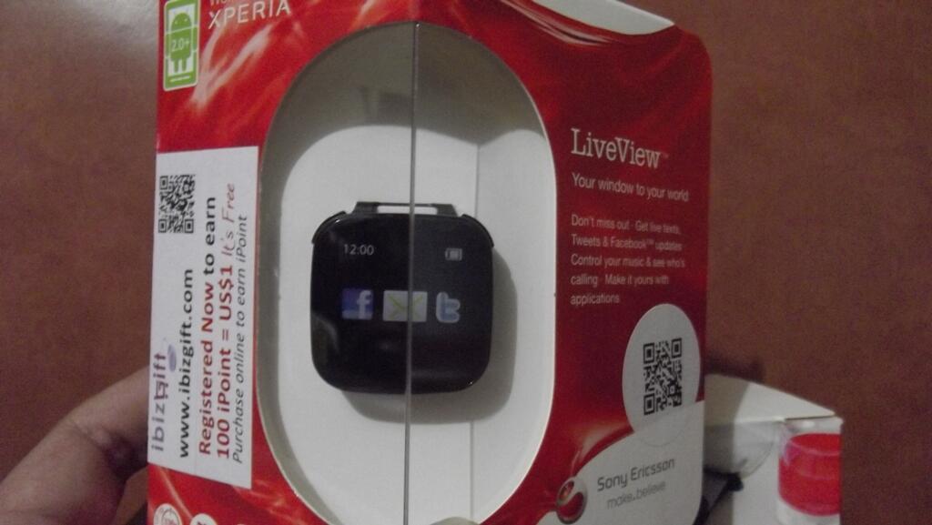 ░▒▓█★ Sony Watch - LiveView™, SmartWatch™ ★█▓▒░
