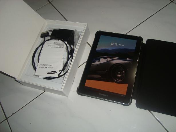 SAMSUNG GALAXY TAB P6800 7.7 32 GB JUAL CEPAT