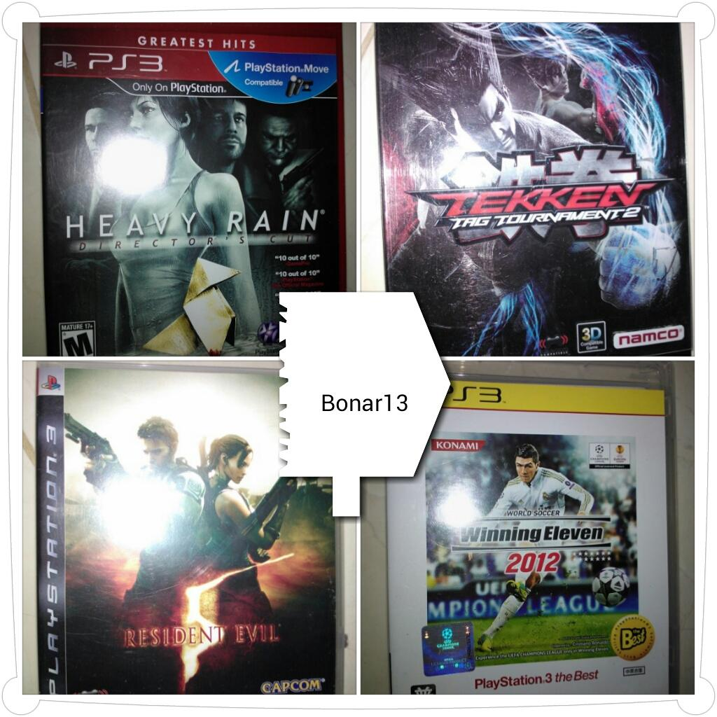JUAL | BELI | BARTER - Kaset BD Video Games PS3 Used - Updates