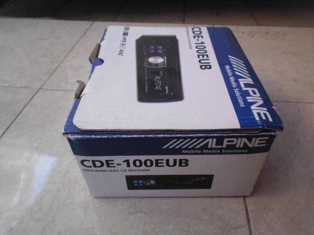 HU ALPINE CDE-100EUB