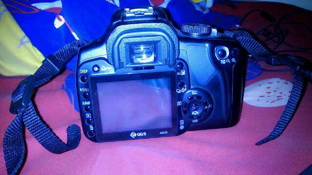 Jual/TT kamera DSLR/SLR cannon EOS 400D TT sama samsung galaxy S3 atau iphone 4G atau