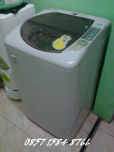 Mesin cuci 1 tabung sanyo top loading 7 kg Cikarang