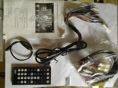 Head Unit Double 2 Din TV Tuner USB Memory Card Ipod (AVIX AX-52DX-B)
