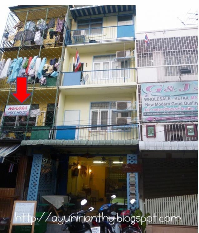 Penginapan Murah Di Bangkok 2 Dollar 70 Baht Per Night