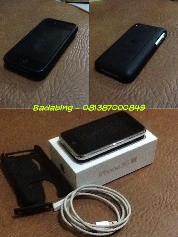 Terjual WTS iphone 3G S 16gb white second factory unlock murah  7f473c4d06