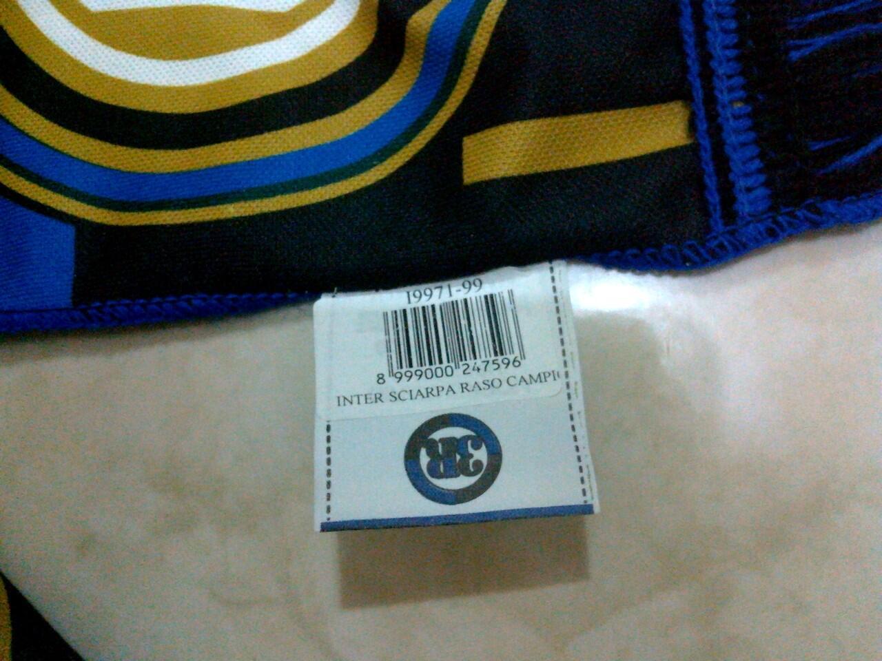 WTS syal/scarf INTER MILAN ORIGINAL