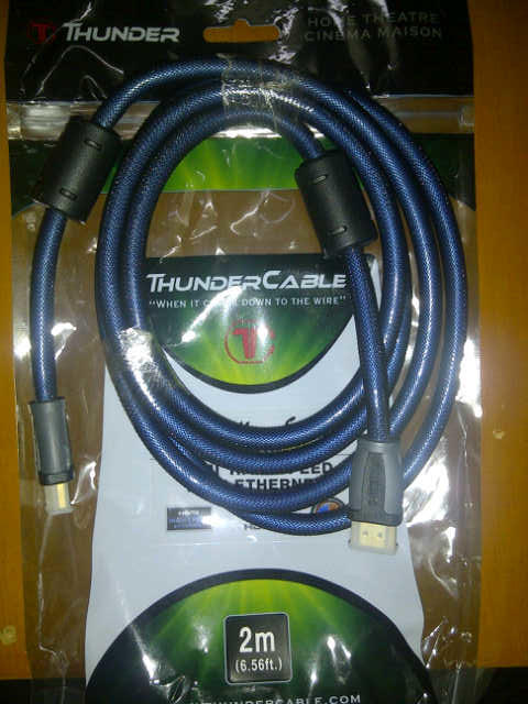 [VERDE] Kabel HDMI Sony M-Tech Thunder Monster Howell Togawa DA QED Chord TERMURAH!!