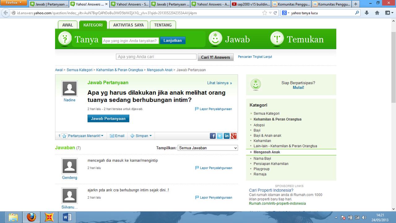 Yahoo answer indonesia