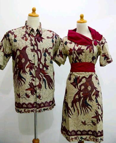 Terjual baju batik gaul modern  4946e5f537