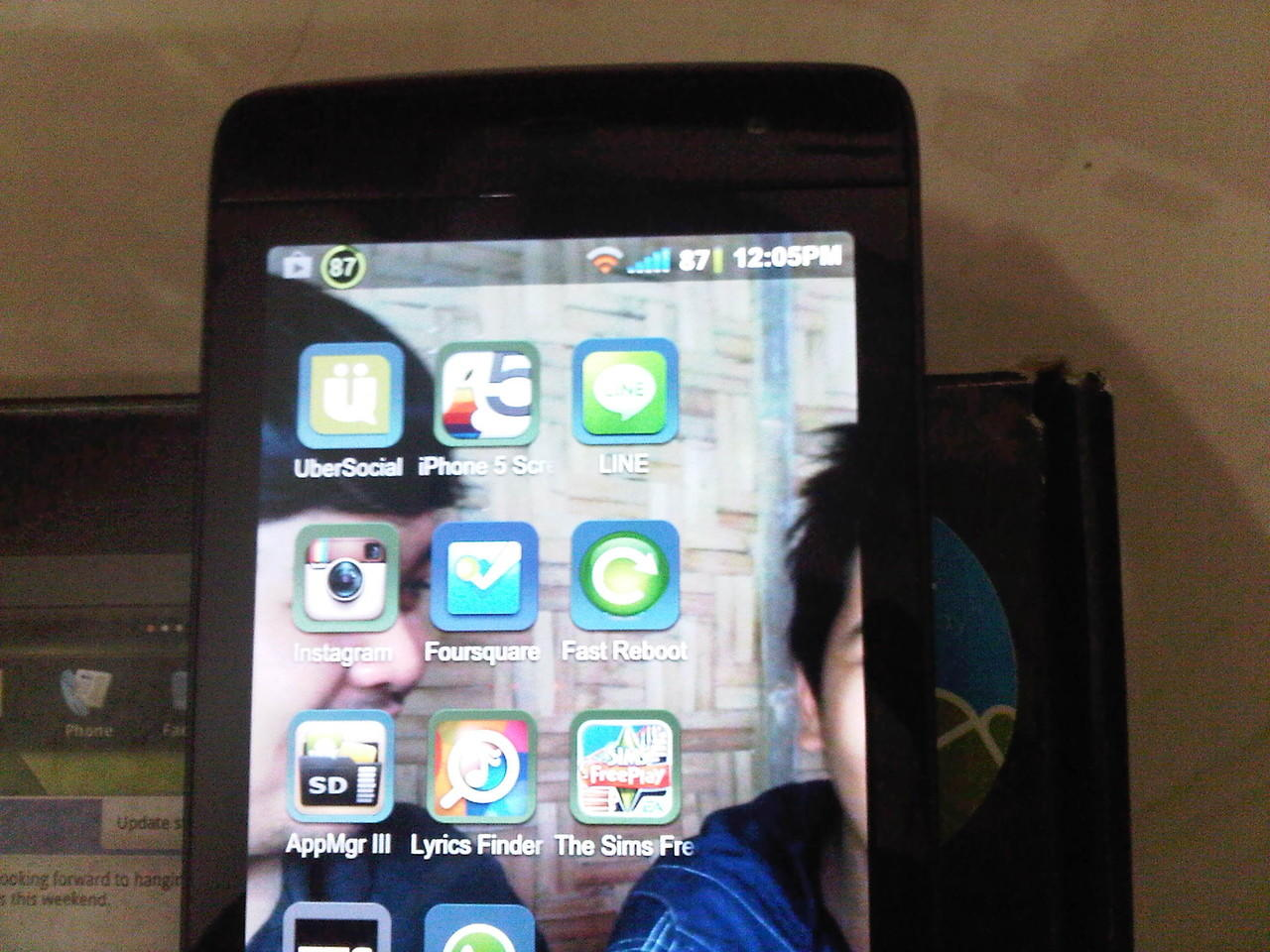ANDROID DELL STREAK 5 BLACK CARBON EDITION 2ND