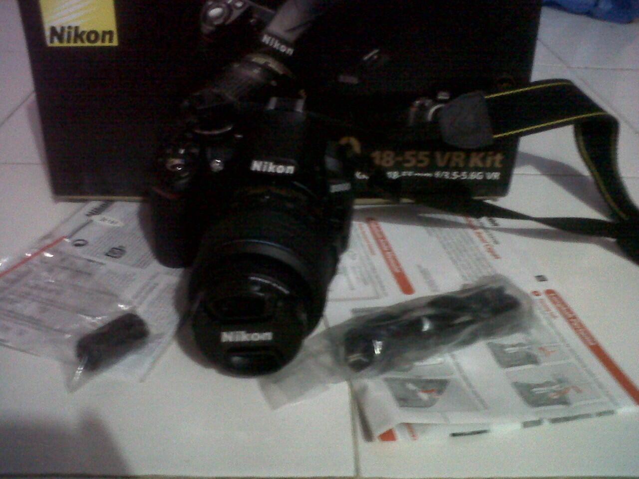 WTS>Nikon D3100 Vr Kit 18-55 garansi ALTA,lengkap+pelindung lensa