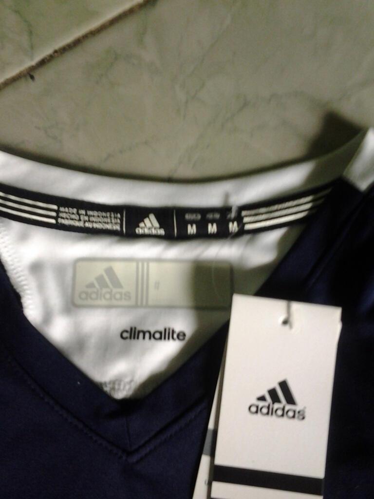Kaos Adidas Climalite (Ori) Navy Blue For Women..