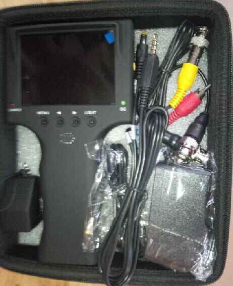 (Bandung) Monitor Tester CCTV camera + Lan Tester RJ 45