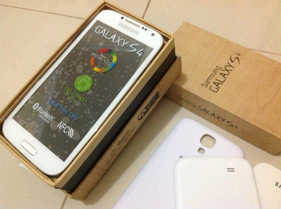 Android Jelly Bean 4.2.2 (Terbaru) | Samsung Galaxy S4 White Replika 1:1