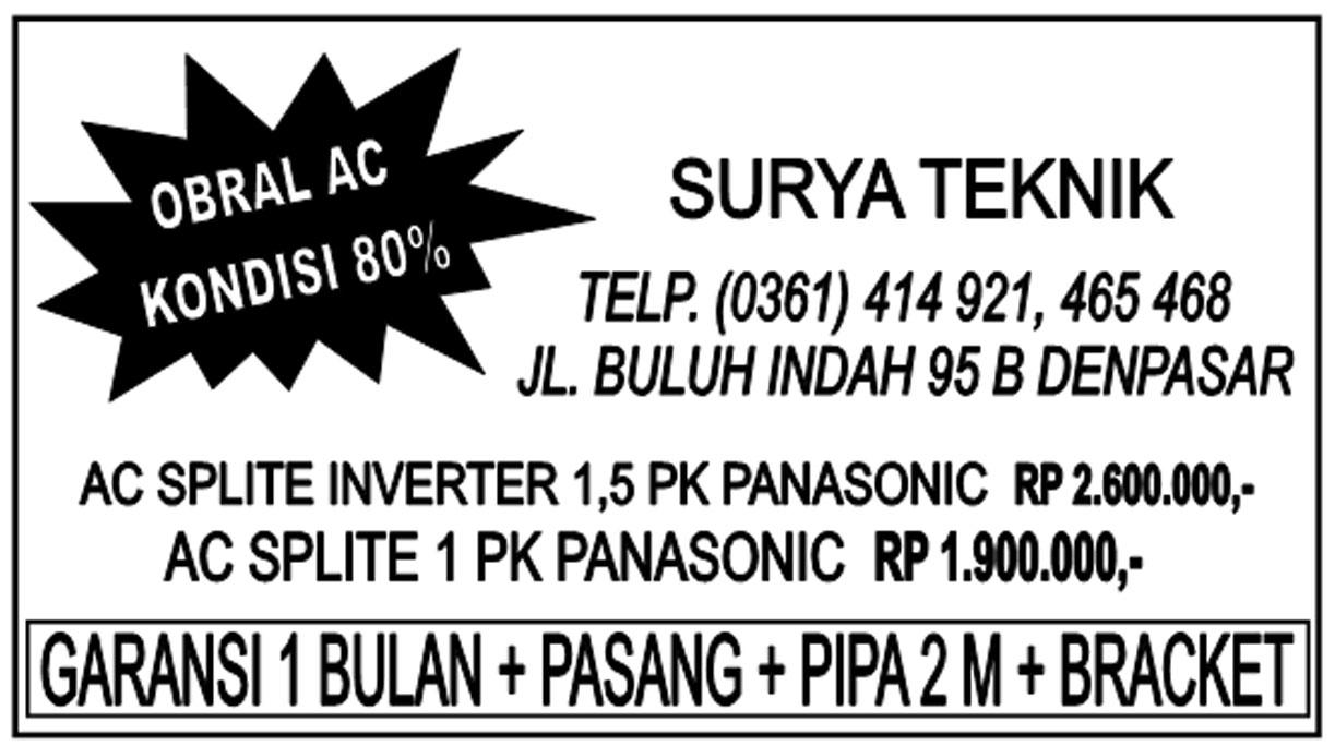 Obral AC Panasonic Inverter