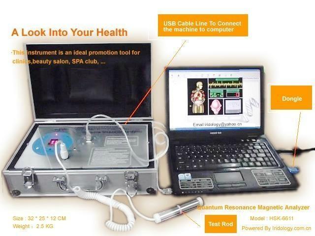 Alat Cek Kesehatan -QUANTUM ANALYZER-