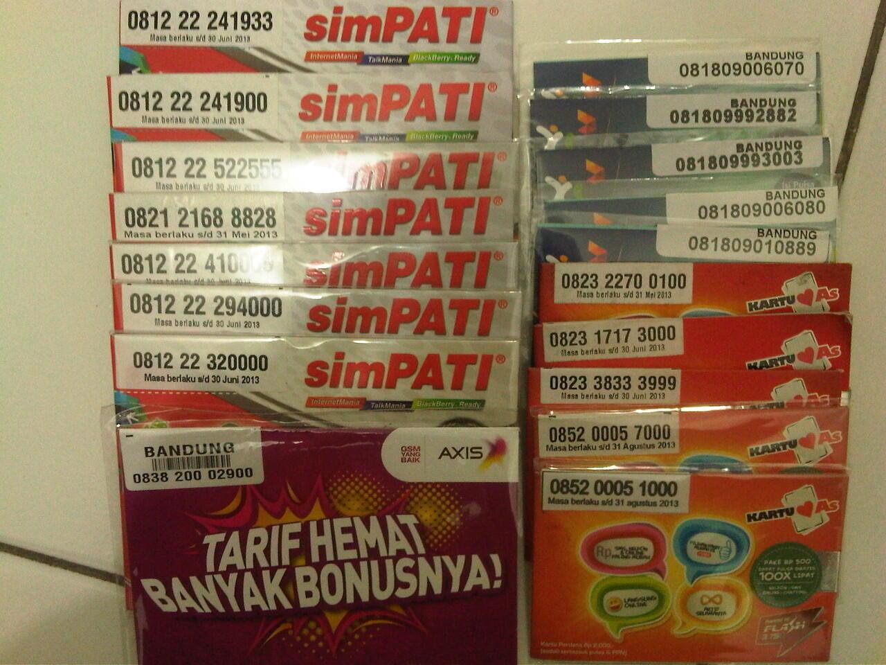 Telkomsel Kartu As Nomor Cantik 0852 88888 192 Daftar Update Source · ANEKA NOMOR CANTIK SIMPATI