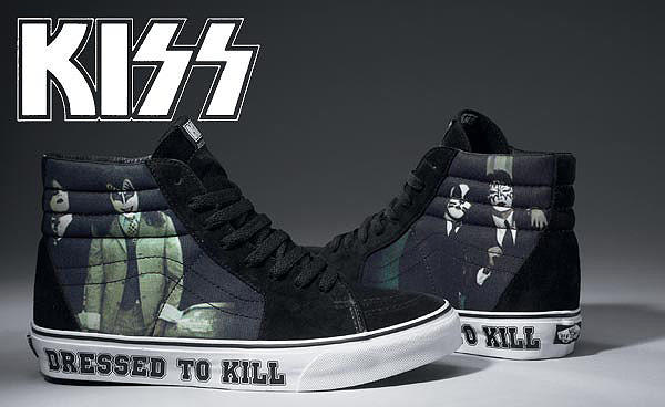 Terjual WTS Vans SK8-Hi X Kiss  dressed to kill  Original Bandung ... 3c62977758