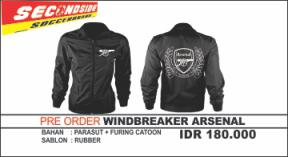 Pre order Windbreaker arsenal