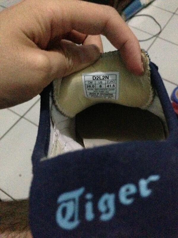 Jual sepatu onitsuka tiger ori (rare item)