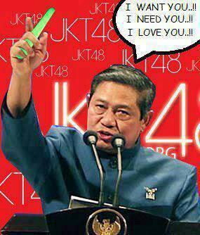 ternya presiden kita gan...fans nya jkt48