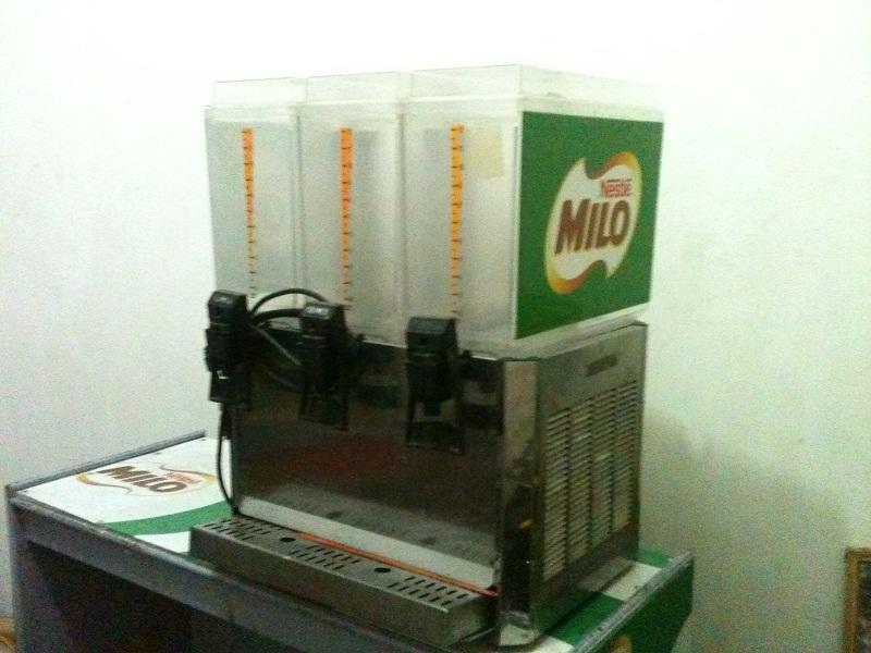 Dijual Mesin Juice Dispenser Promek 3 Tabung Italy