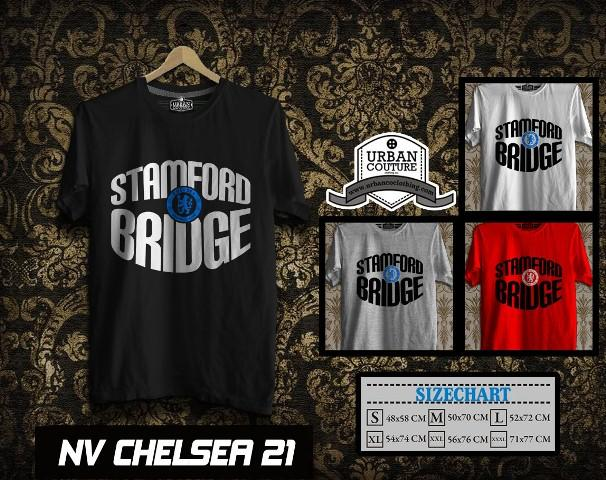 KAOS T-SHIRT CHELSEA ARSENAL MANCHESTER UNITED CITY MONACO =READY STOCK UPDATE= !