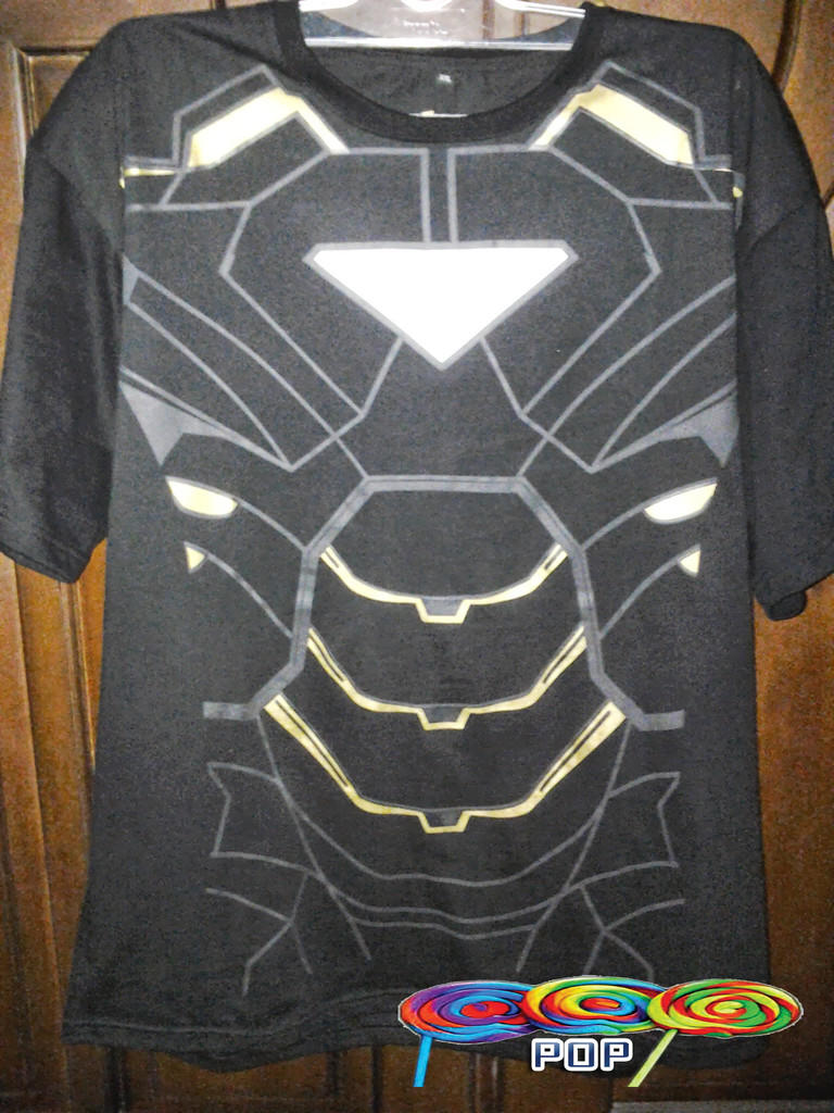 {FREE ONGKIR} Kaos T-Shirt Ironman Black Edition Limited [READY STOCK!]