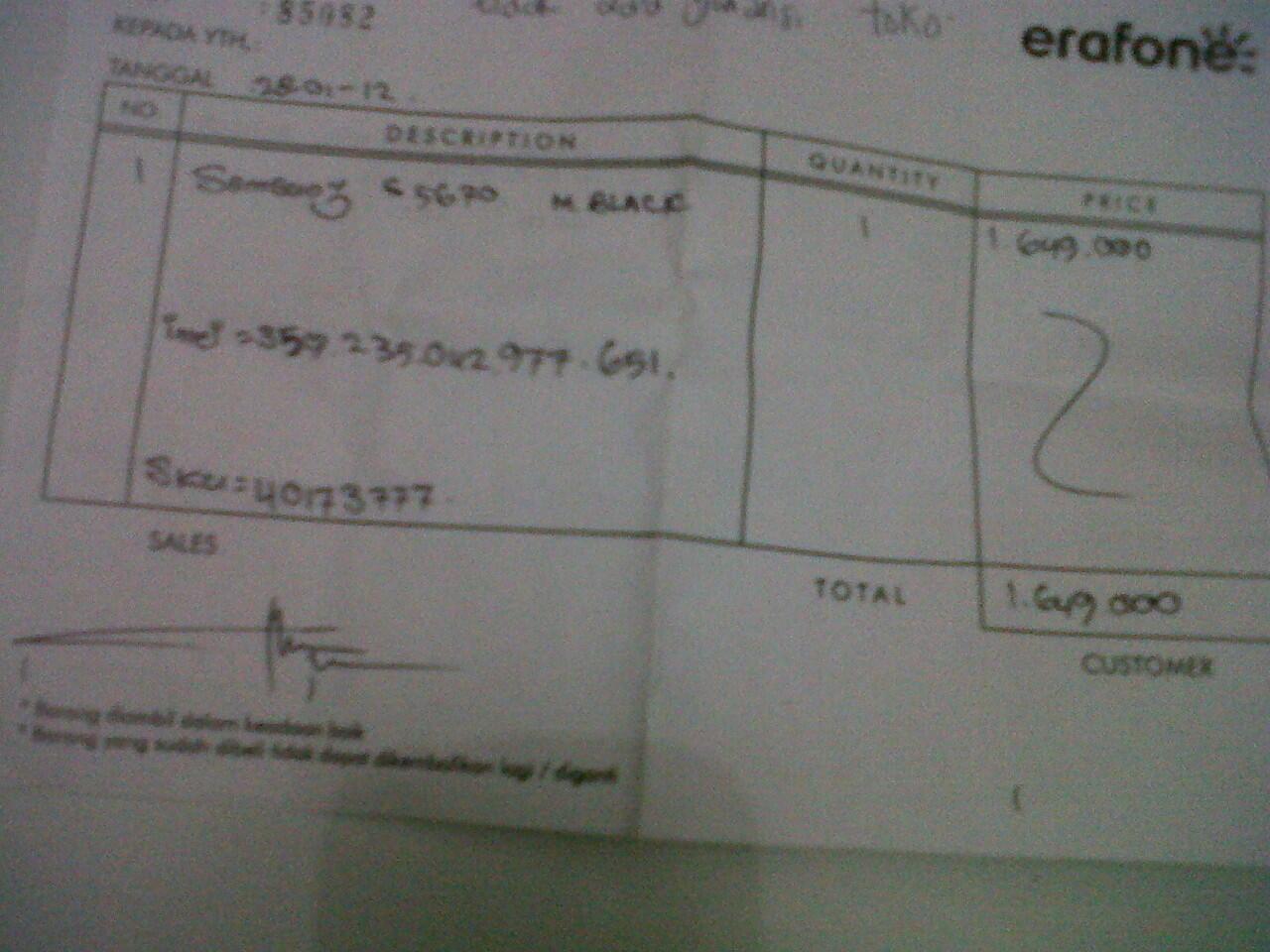 JUAL CEPAT & BUTUH, SAMSUNG GALAXY FIT GT5670