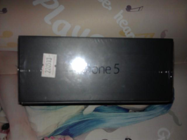 WTS IPHONE 5 BNIB FU BLACK 16GB FULLSET BANDUNG