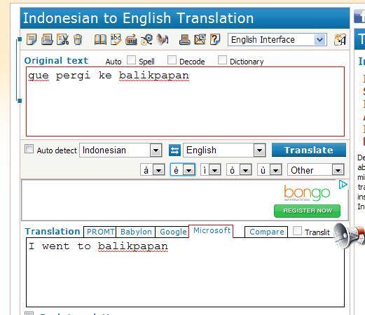 Translator yang Lebih Handal dari Google dan Bing | KASKUS