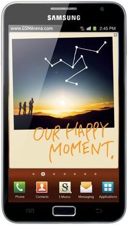 Samsung Galaxy Note I717 harga Rp.3.700,000, Nego