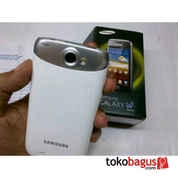 Samsung Galaxy Wonder White Super Mulus 99% Grs Panjang