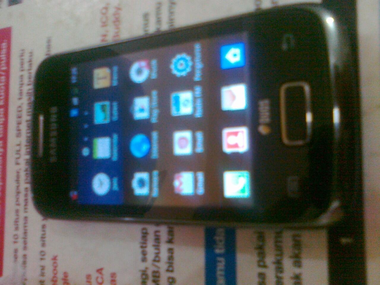 Jual Samsung Galaxy Young Duos warna Hitam