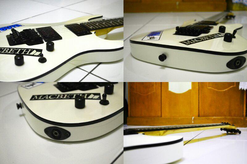 Jual Gitar Cort KX5FR Mulus