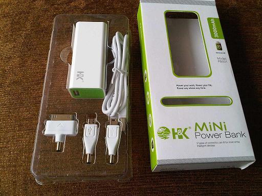 powerbank mini HK 3000 mAh SOLO