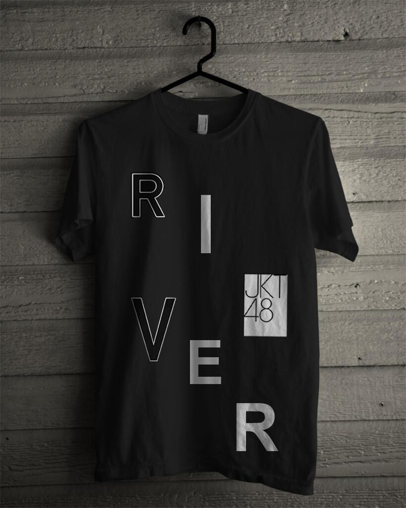 Pre Order T-shirt/Kaos JKT48 RIVER (Unofficial Desain) ! Langsung masuk aja gan