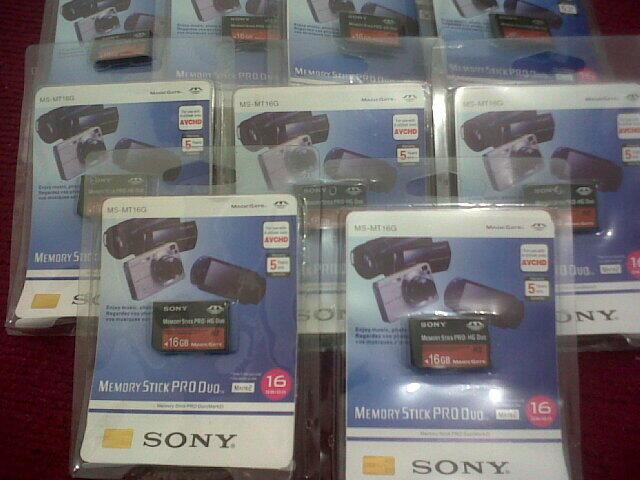 MEMORY STICK PSP SONY PRO HG DUO 8GB,16GB & 32GB MURAH MERIAH [ NO LAG !!! ]