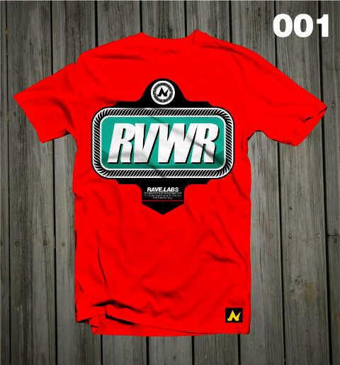 Baju kaos Kualitas Oke (Ravewear/RVWR)