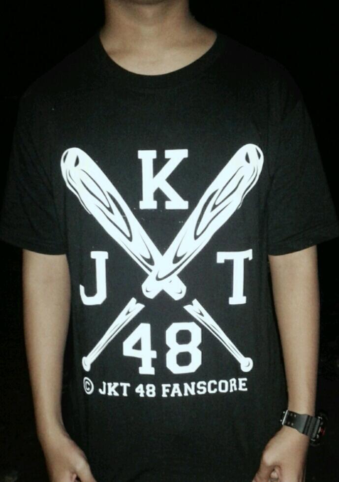 Kaos Jkt48 Fanscore + Stiker
