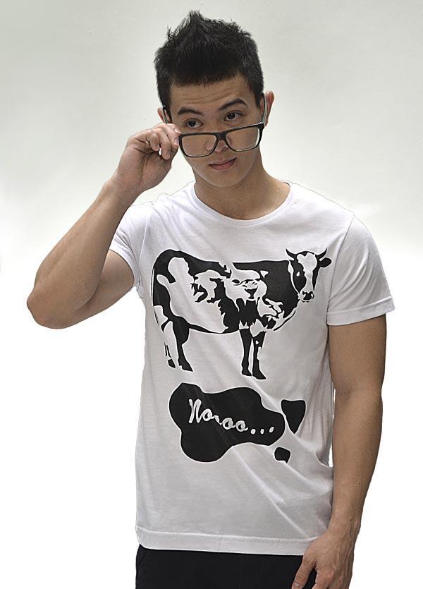 Kaos adaptshirt! Noooo design