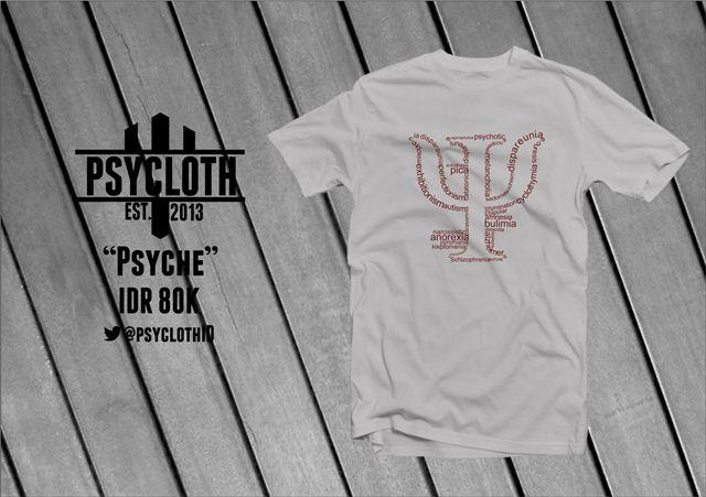 PsyCloth | [PreOrder] T-shirt and Psychology
