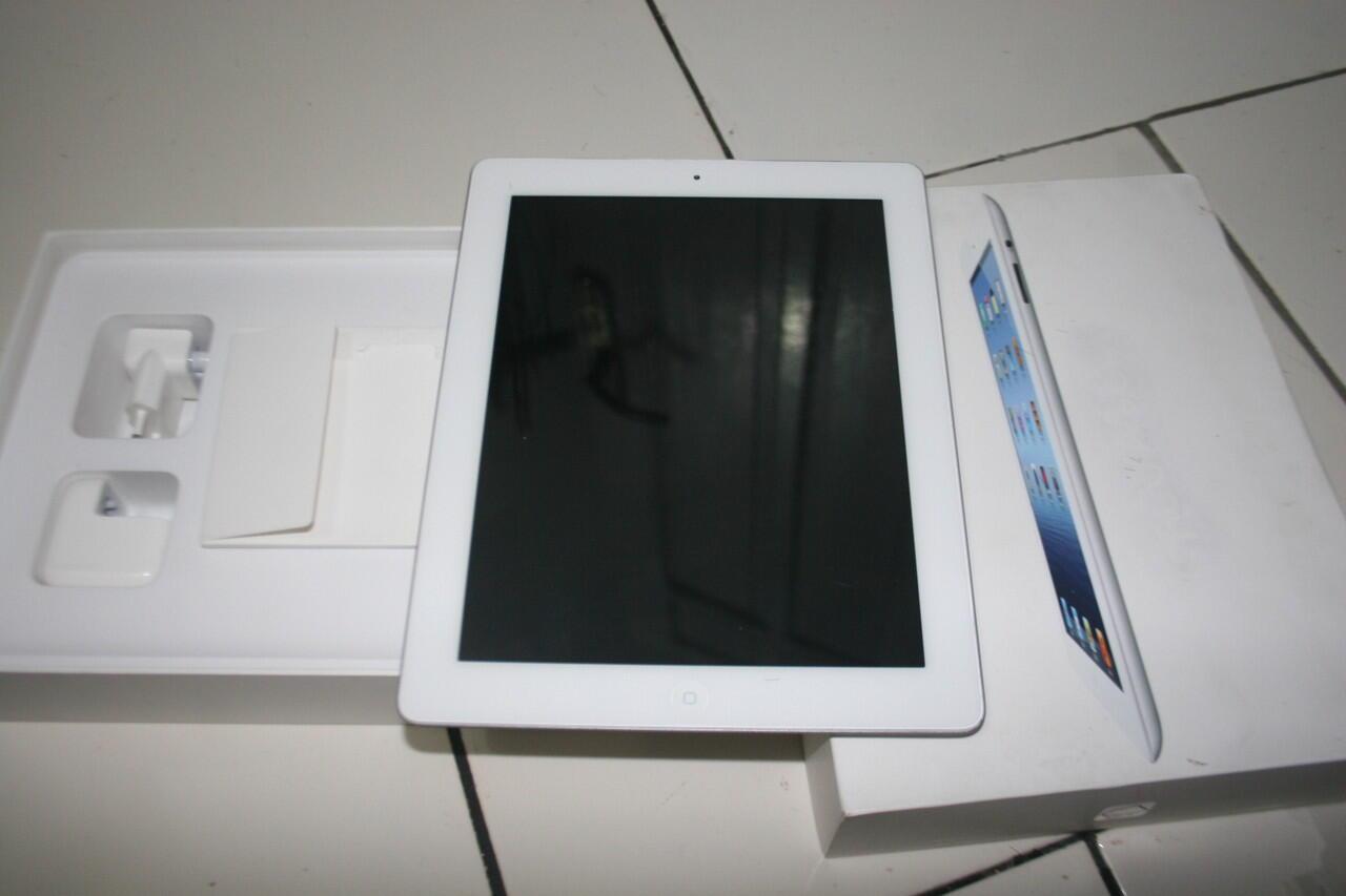 Dijual Ipad3 4G Cellular Wifi, 16 GB second lengkap ipad3