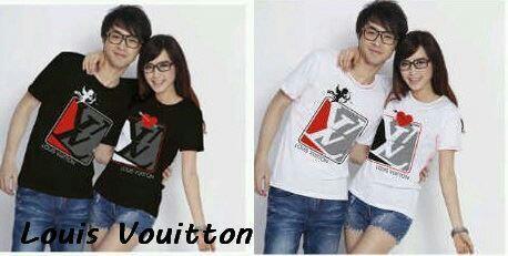 Kaos Couple cupid of Love(LV) Black