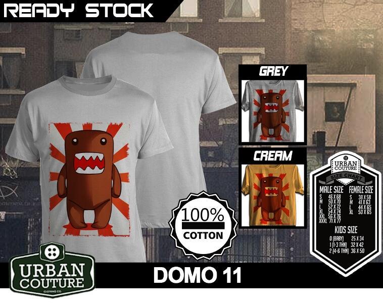 [READY STOCK] Kaos Domo Kun New Design and Fresh