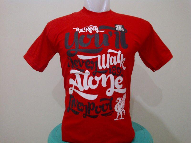 Baju Kaos Sepak Bola Liverpool Tshirt - Grosir Harga Murah Distro Terbaru
