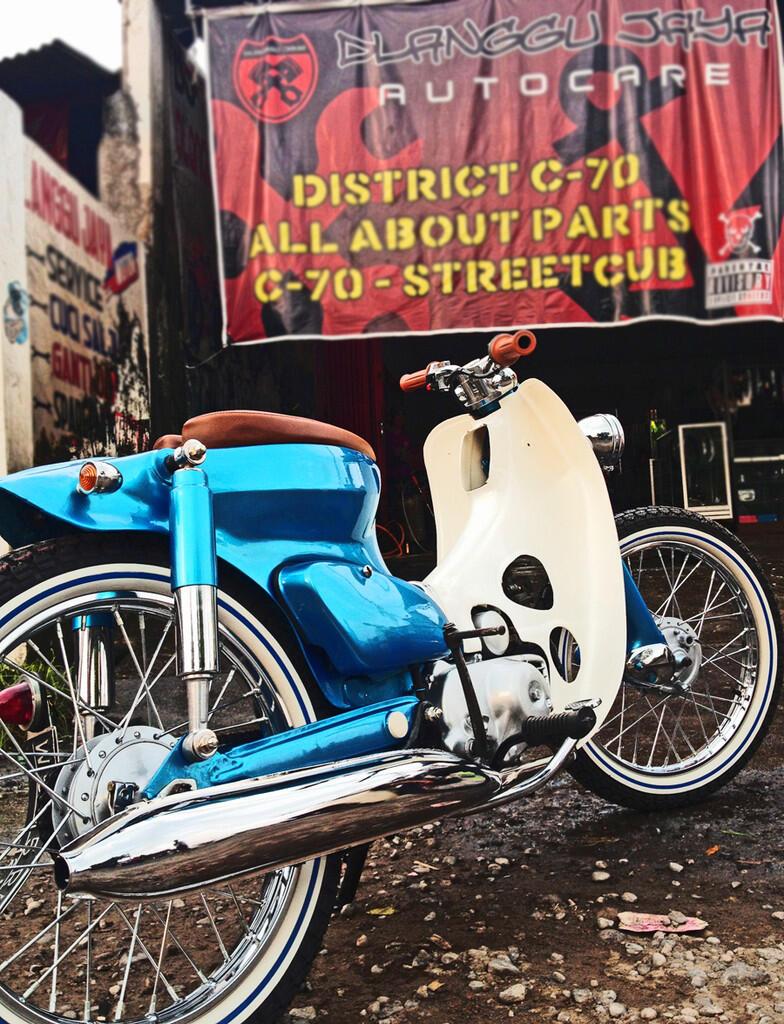 Cari Dijual Honda C70 Modif Street Cub City Cub Seloli