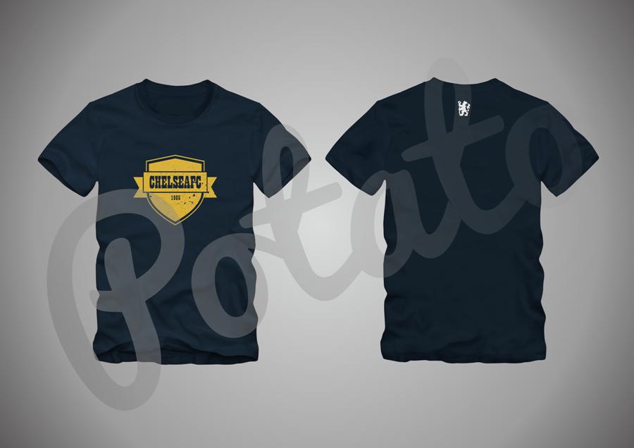 [WTS] Open PRE-ORDER T-Shirt CHELSEA untuk agan-agan TRUE BLUE