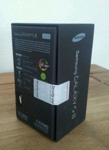 Samsung Galaxy S II,baru dan bersegel